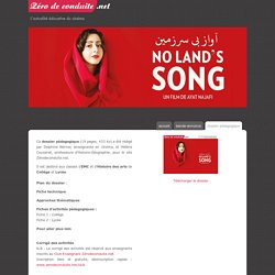 No Land's Song un film d'Ayat Najafi