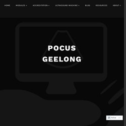 No PACS, no problem – POCUS GEELONG