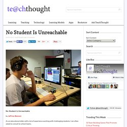 No Student Is Unreachable