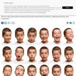 No suba esa foto de su hijo