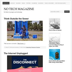 No Tech Magazine