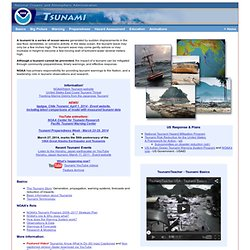 NOAA Tsunami Website
