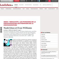 Noah Glass et Evan Williams, les frères ennemis de Twitter, Analyses