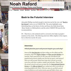 Back to the Futurist Interview