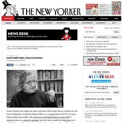 Noam Chomsky's Legacy