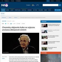 Noam Chomsky o obrazovanju