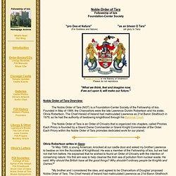 Noble Order of Tara