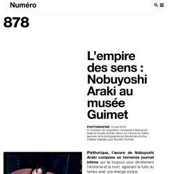Nobuyoshi Araki au musée Guimet