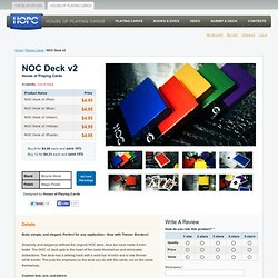 NOC Deck v2 - Playing Cards