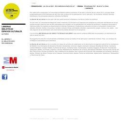 LA NOCHE DE LOS LIBROS · Madrid 27 de Abril 2012