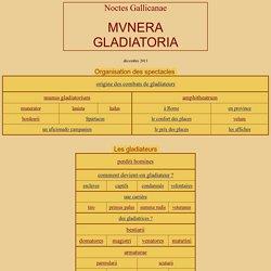 Noctes Gallicanae - Munera gladiatoria