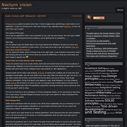 Nocturn vision » Blog Archive » Code-review with NDepend