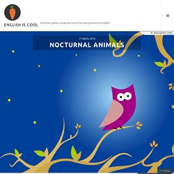 NOCTURNAL ANIMALS – ENGLISH IS COOL