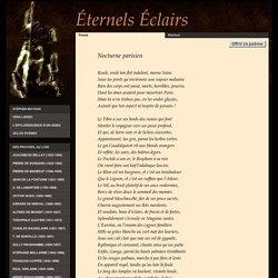 Nocturne parisien, poème de Paul Verlaine