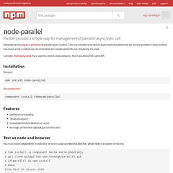 node-parallel