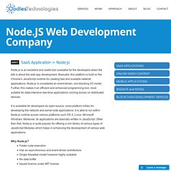 Node.JS Web Development Company