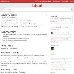node-webgl