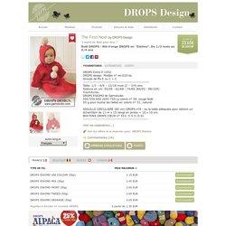 """Noël DROPS : Nid d'ange DROPS en """"Eskimo"""". Du 1/3 mois au 3/4 ans"""
