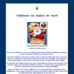 Noel: histoire du Timbre de Noel, vignette et son histoire