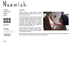 Noémiah — À propos