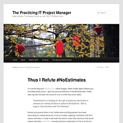 The Practicing IT Project ManagerThe Practicing IT Project Manager