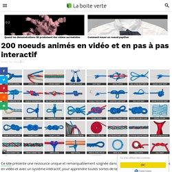 200 noeuds animés en vidéo et en pas à pas interactif