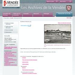 Noirmoutier-en-l'Île : source de l'histoire de la commune