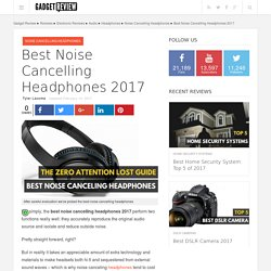 Buy Best Noise Cancelling Headphones