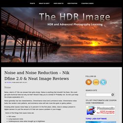 Noise and Noise Reduction – Nik Dfine 2.0 & Neat Image Reviews