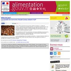 ALIMENTATION_GOUV_FR 05/05/14 La noisette de Cervione (Haute-Corse) obtient l'indication géographique protégée