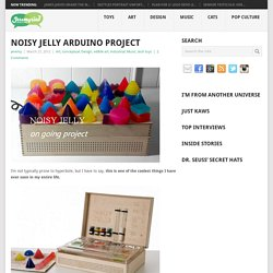 Noisy Jelly Arduino Project