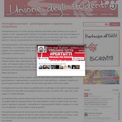 #noivogliamocontare – partecipazione e rappresentanza studentesca