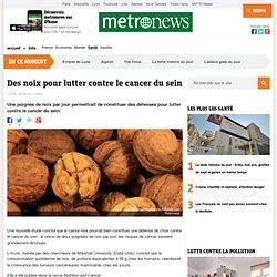 Des noix pour lutter contre le cancer du sein