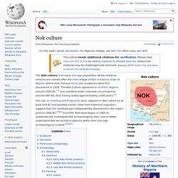Nok culture - Wikipedia