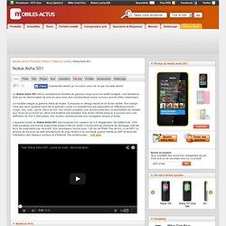 NOKIA ASHA 501 : Test, avis, comparatif, prix du Nokia Asha 501