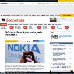 Nokia continue à perdre des parts de marché