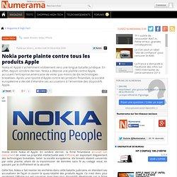 Nokia porte plainte contre tous les produits Apple - Numerama