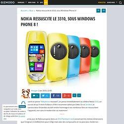 Nokia ressuscite le 3310, sous Windows Phone 8 !