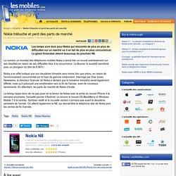 Nokia trébuche et perd des parts de marché