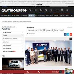 Noleggio - Leasys Cambia Il Logo E Sigla Accordi - Aziende - Quattroruote.it