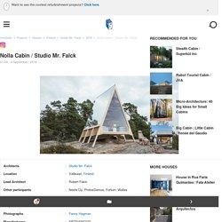 Nolla Cabin / Studio Mr. Falck