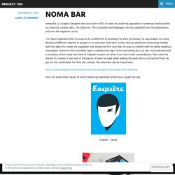 NOMA BAR – Project Ted
