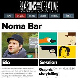 Noma Bar - Speaker - Reasons to be Creative - Sept 7-8-9 2015