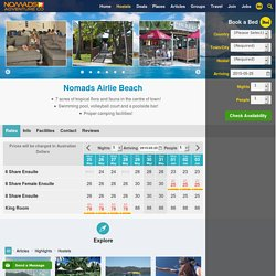 Nomads Airlie Beach Hostel & Campsite - Sleep with us!