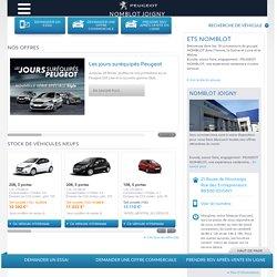 NOMBLOT JOIGNY, Votre point de vente Peugeot