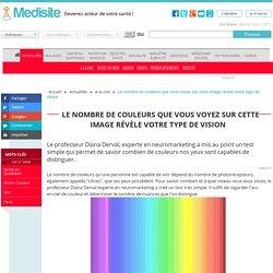 Le nombre de couleurs que vous voyez sur cette image révèle votre type de vision