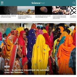 Inde : le nombre inquiétant de suicides chez les femmes
