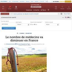 Le nombre de médecins va diminuer en France