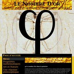 Le nombre d'or dans la peinture, l'architecture et la nature - Le Nombre D'or