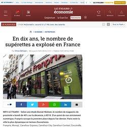 En dix ans, le nombre de supérettes a explosé en France